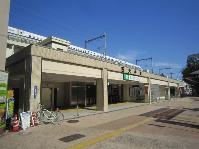 西大井駅舎