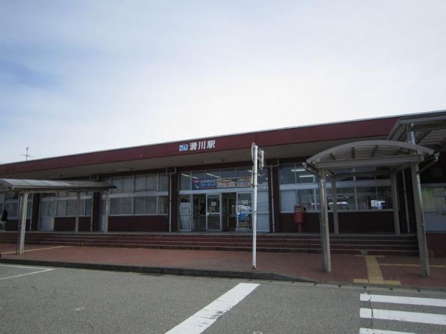 滑川J駅舎