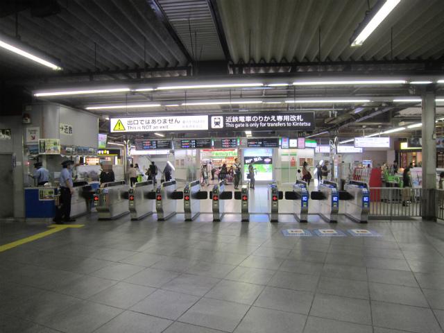 鶴橋近鉄東乗換入口