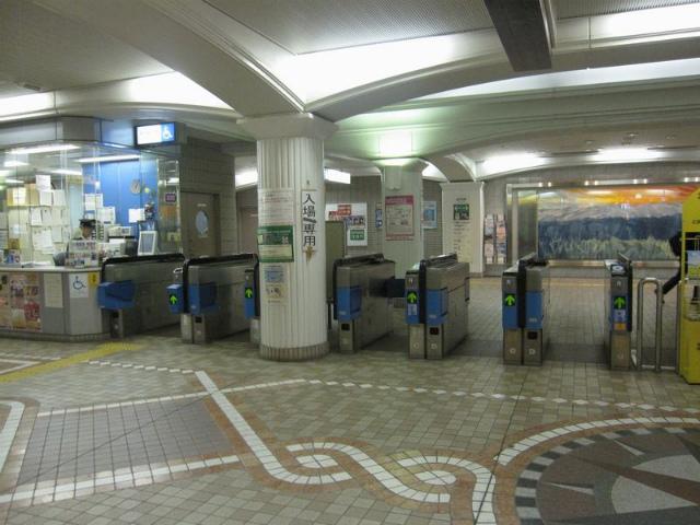 三宮・花時計前駅 改札