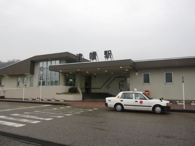 津幡駅 駅舎