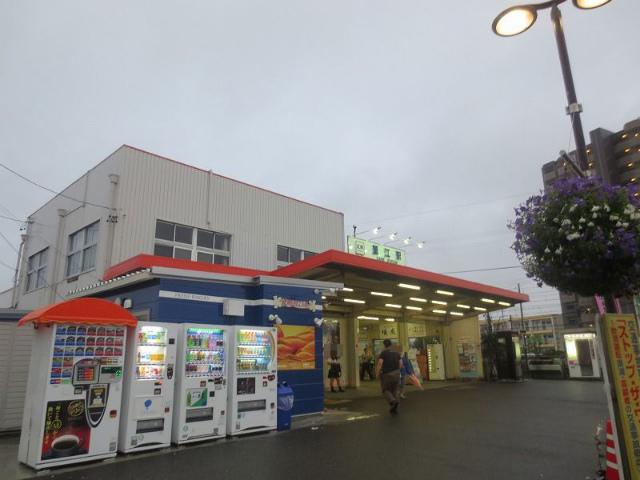 近鉄蟹江 駅舎