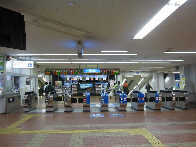 京橋駅 西改札