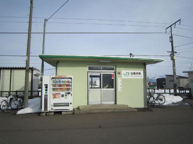 北新井駅舎