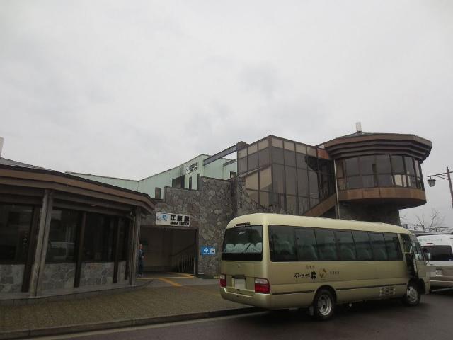 江原 駅舎