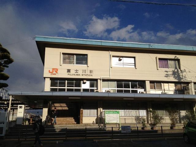 富士川駅舎