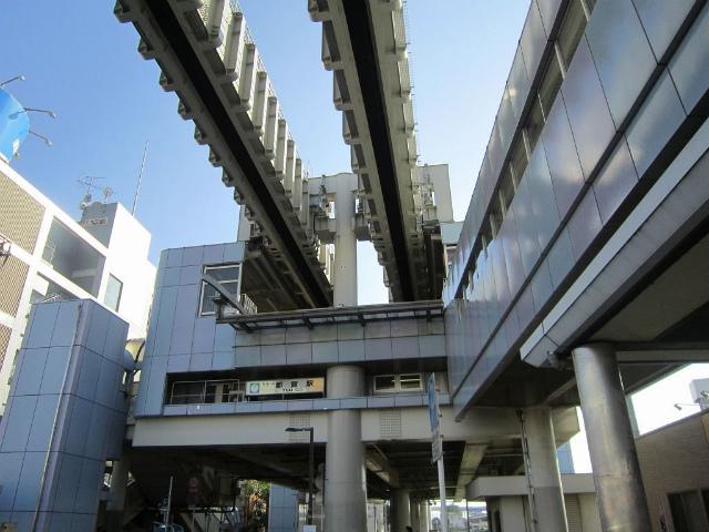 都賀モノレール駅舎