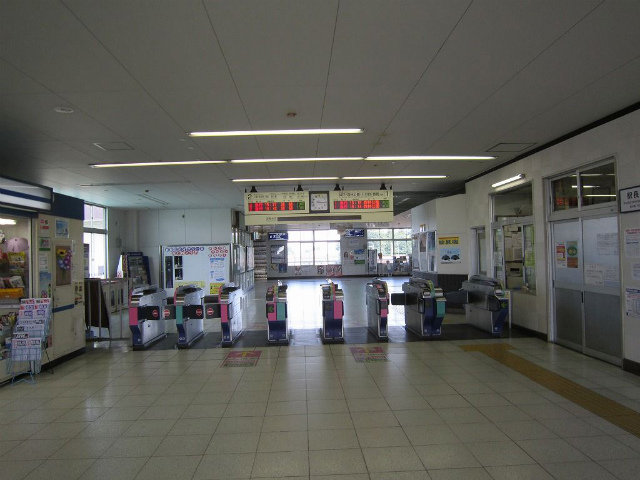 鶴ヶ島改札