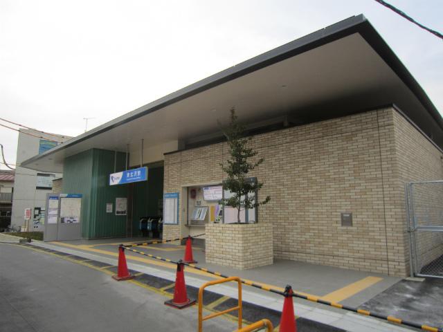 東北沢西駅舎