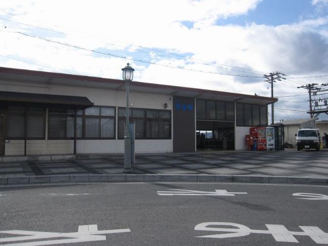 早島駅 駅舎