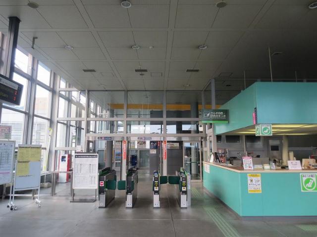 小樽築港 改札