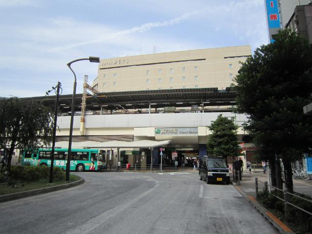 高円寺南駅舎