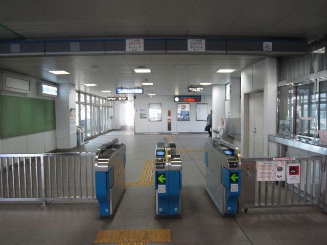 千葉県庁前改札