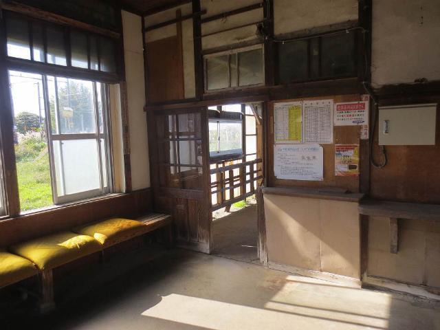 浜加積 駅舎内部1