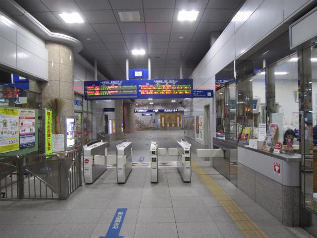 新八代新幹線改札