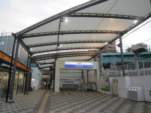 中井南口駅舎