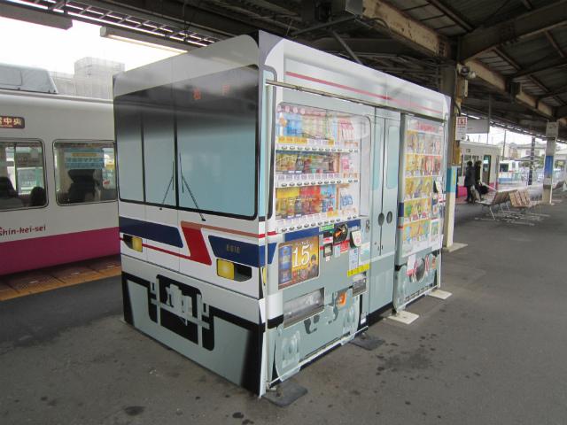 鎌ヶ谷大仏自販機