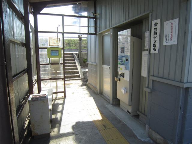 能瀬駅舎内部