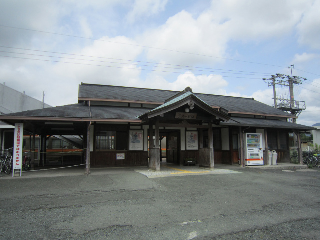 三河一宮駅舎