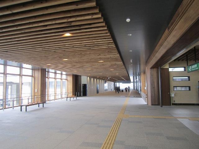 脇野田駅自由通路