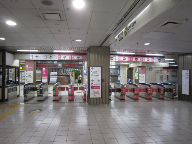 新宿都営新宿京王新線改札