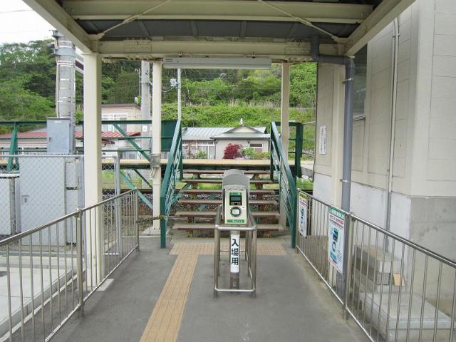 陸前浜田改札