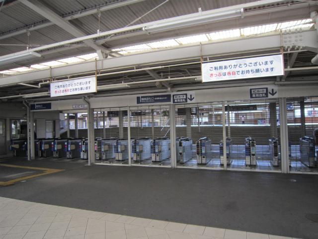 仁川東改札全景
