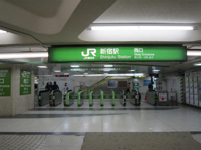新宿jr西口b
