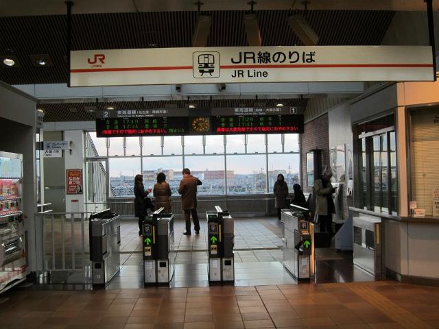 木曽川改札