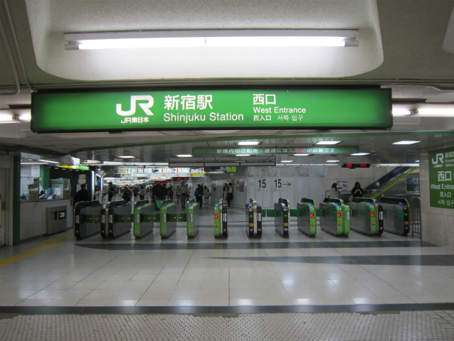 新宿jr西口