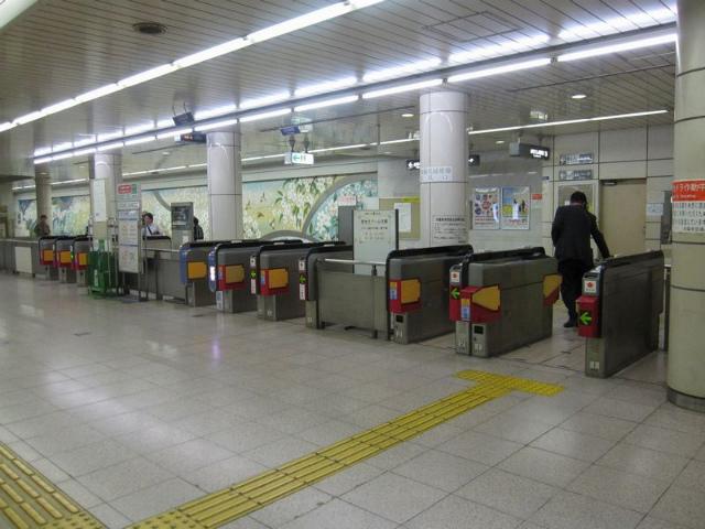 京橋(地下鉄) 改札