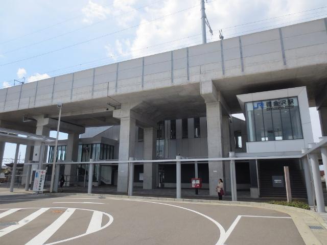 西金沢 駅舎