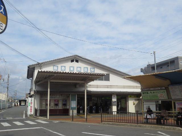 東向 駅舎