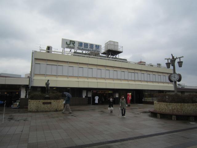 津田沼駅舎