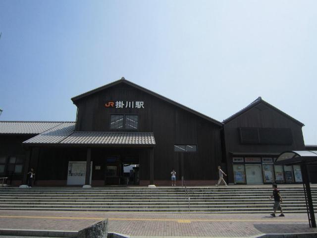 掛川北駅舎