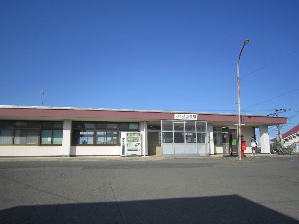 松山町駅   改札画像.net