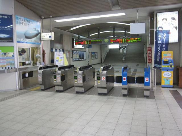 児島駅 改札