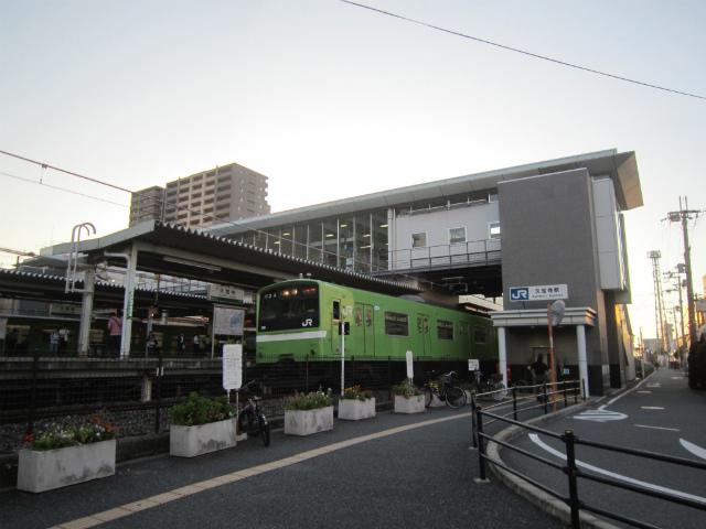 久宝寺駅舎