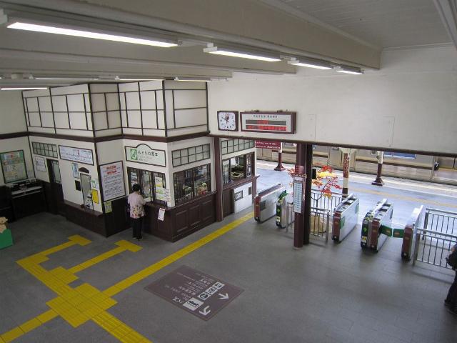 日光駅舎内部