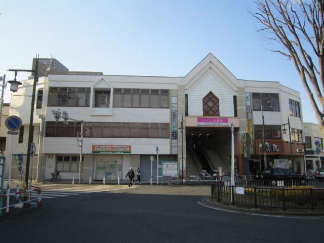 上本郷駅舎