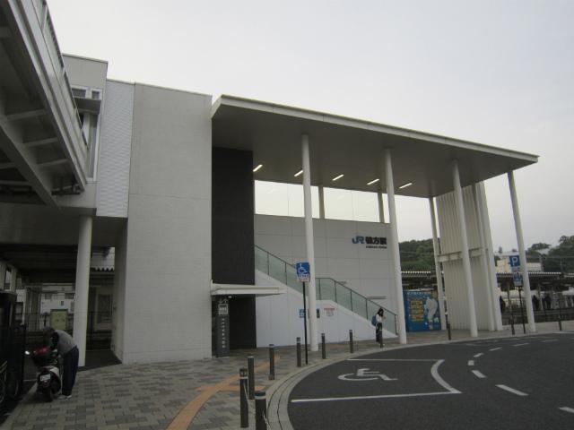 鴨方南口駅舎