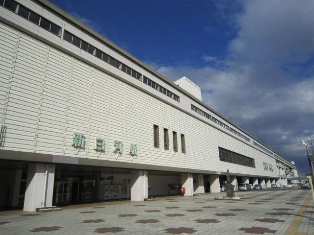 新白河駅舎