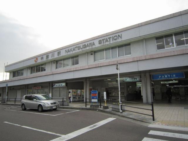 中津川駅舎