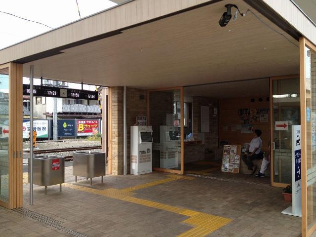 上州富岡駅舎内部
