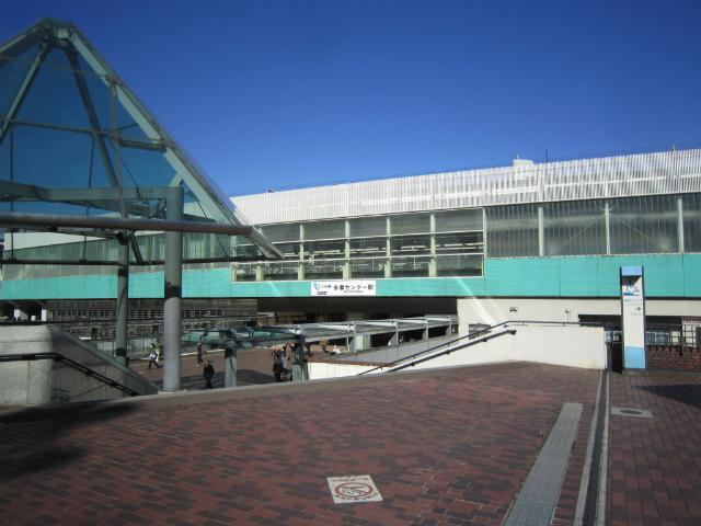 多摩セン駅舎
