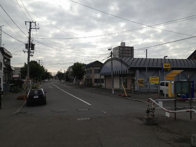 篠路東駅前