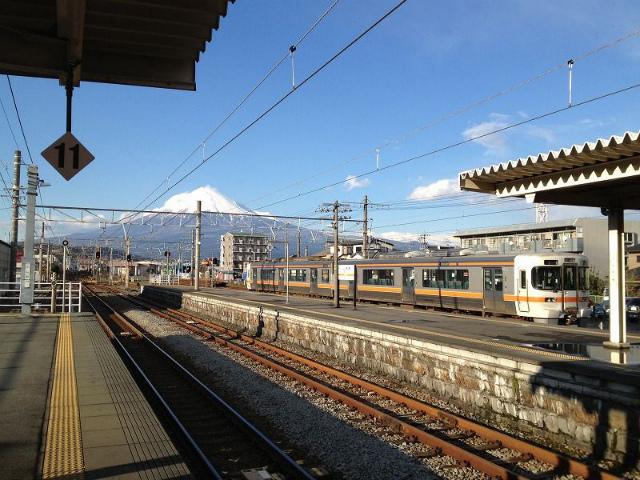 富士川富士山