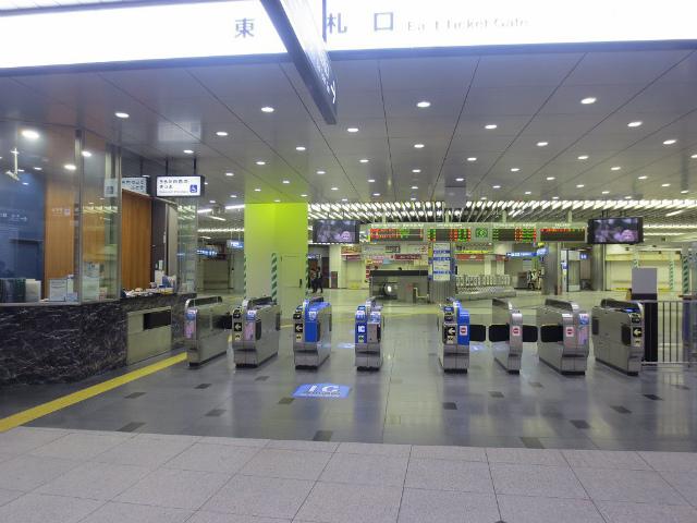 新大阪 東改札