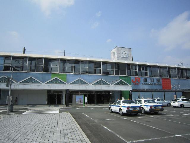 掛川新幹線口駅舎