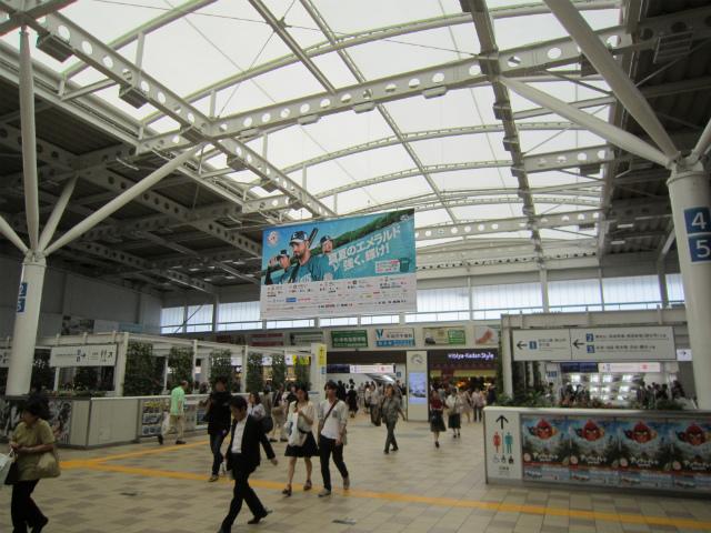 所沢駅コンコース